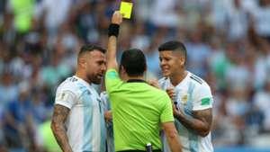 Otamendi Rojo Argentina France Francia World Cup  2018 30062018