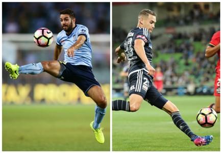 Michael Zullo Sydney FC Jai Ingham Melbourne Victory A-League