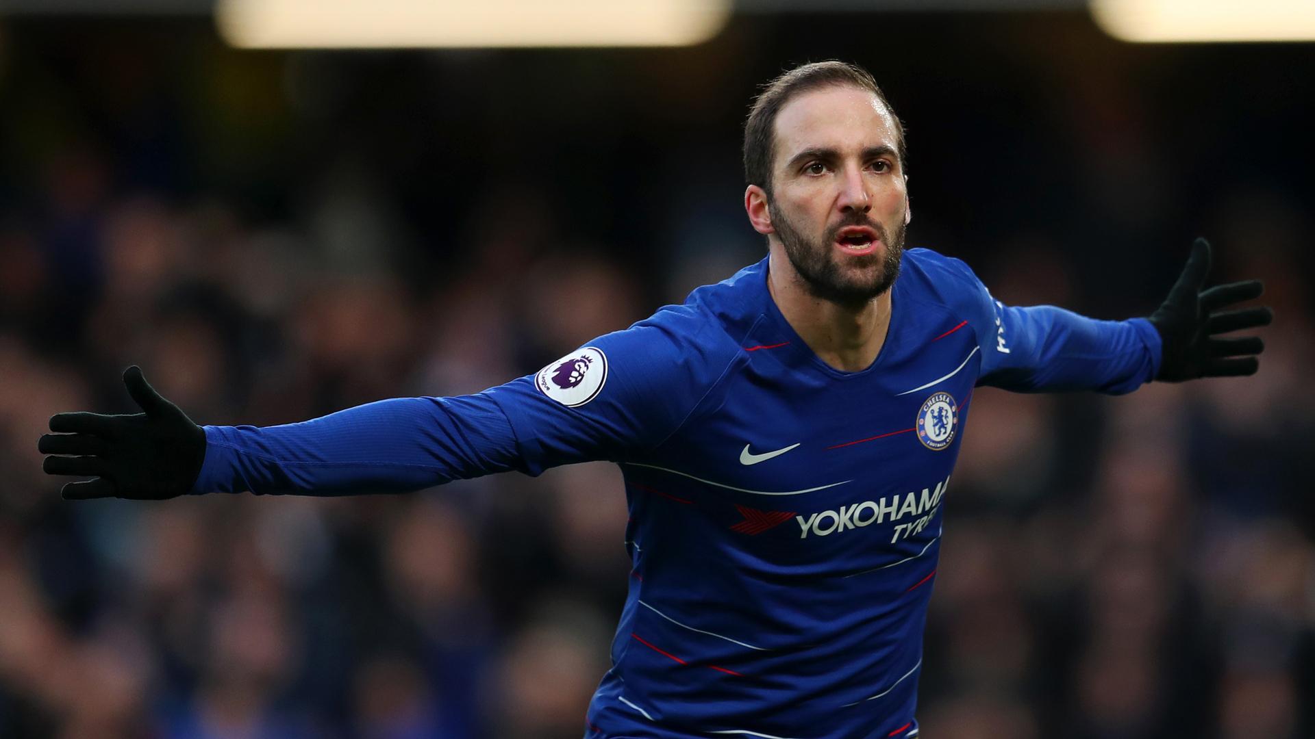 Gonzalo Higuain Chelsea 02022019