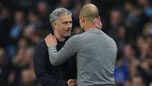 Jose Mourinho Pep Guardiola