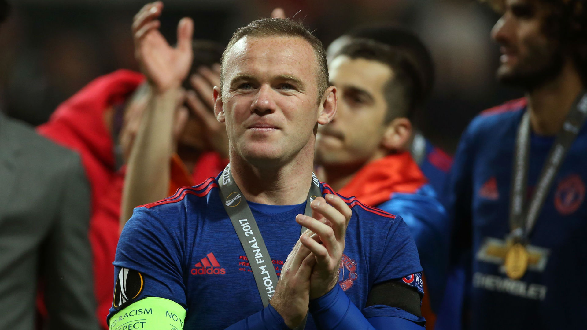 Wayne Rooney Manchester United Europa League final
