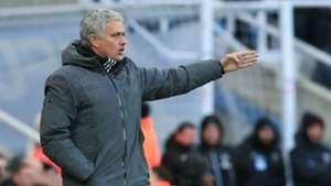 Jose Mourinho Manchester United Newcastle
