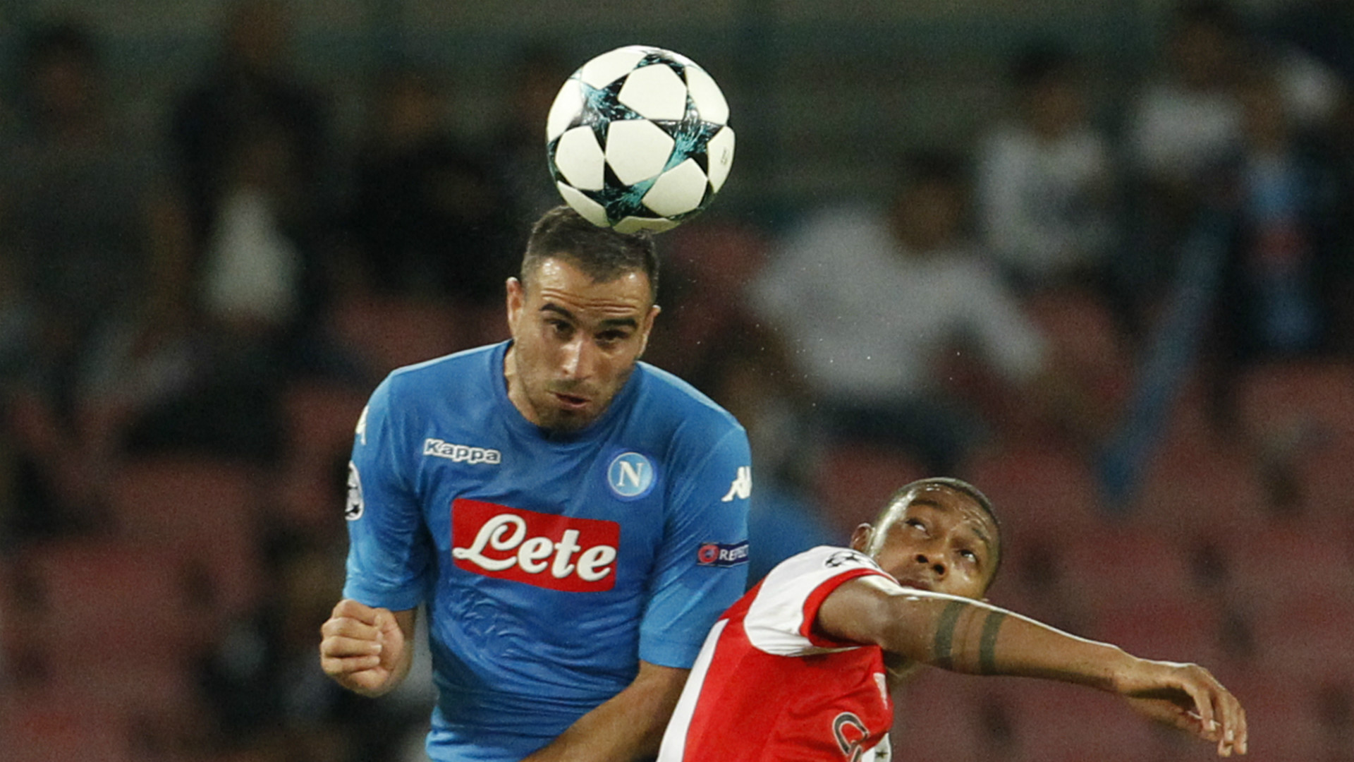 Nikola Maksimovic, Jean-Paul Boetius, Napoli, Feyenoord, UEFA Champions League, 26092017