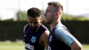 Arthur Barcelona training 12072018