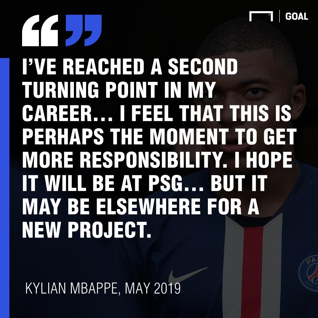 Kylian Mbappe quote GFX