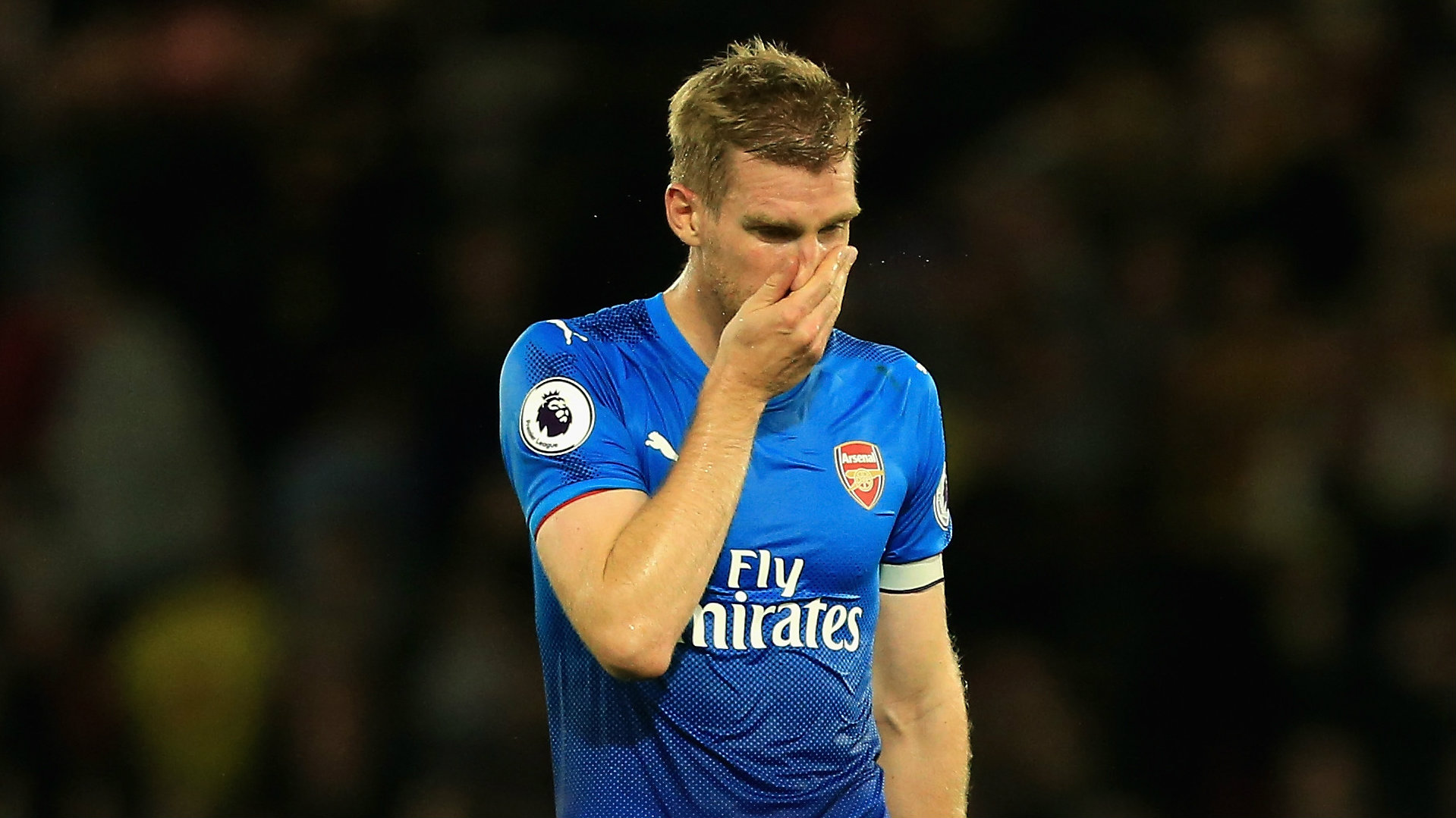 Per Mertesacker, Arsenal, 17/18
