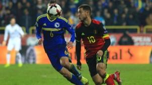 Bosnia Belgium WC Qualification Hazard