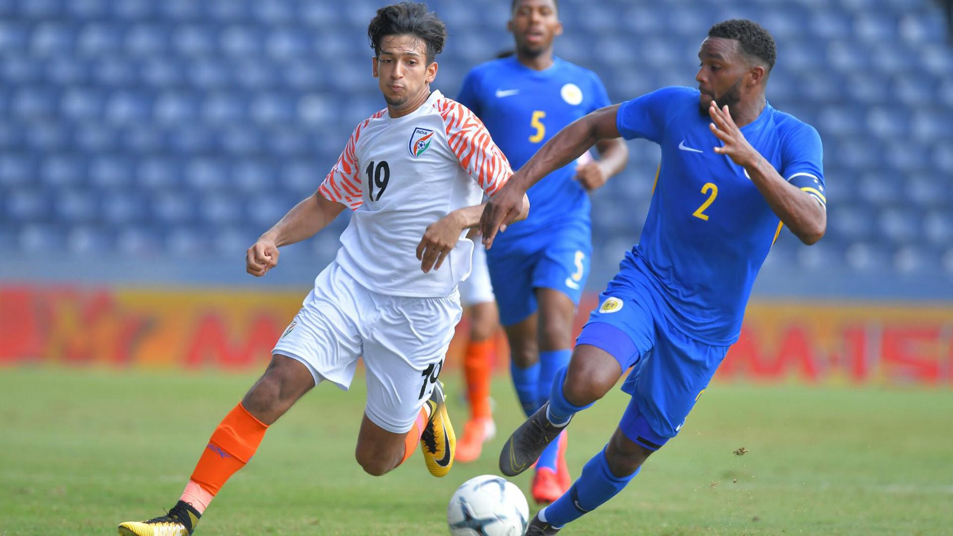 Sahal Abdul Samad Curacao India King's Cup 2019