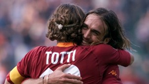 Francesco Totti Gabriel Omar Batistuta Roma Serie A