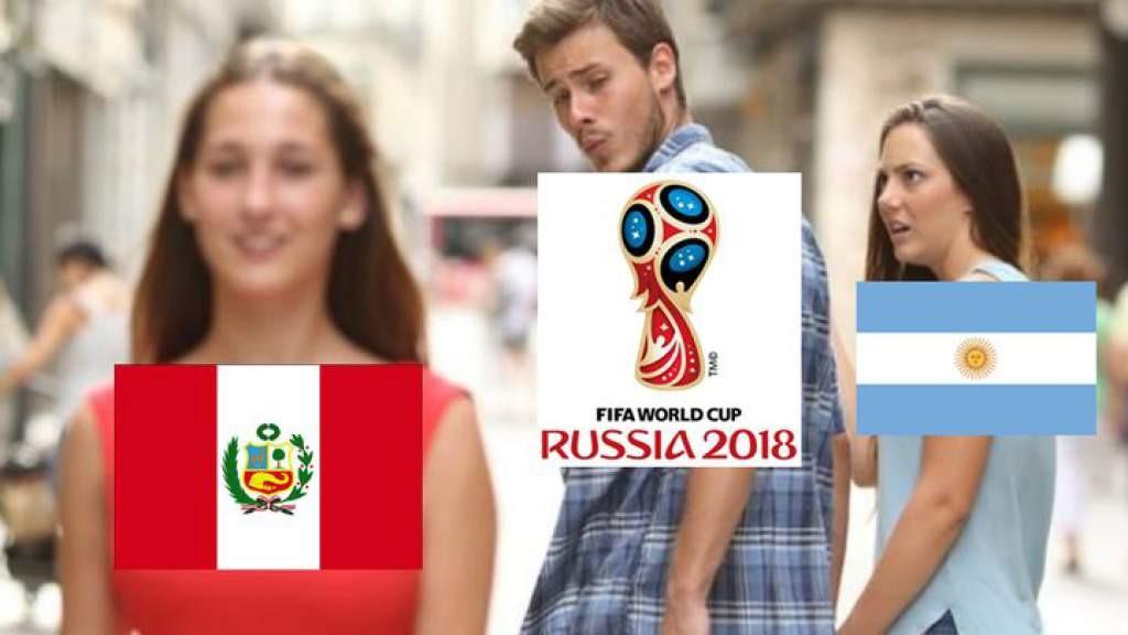 Memes Argentina vs Perú