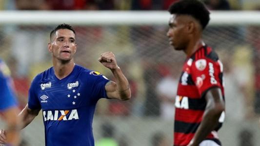Thiago Neves Vitinho Cruzeiro Flamengo Libertadores 09 08 2018