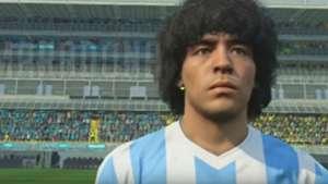 Diego Maradona PES Konami