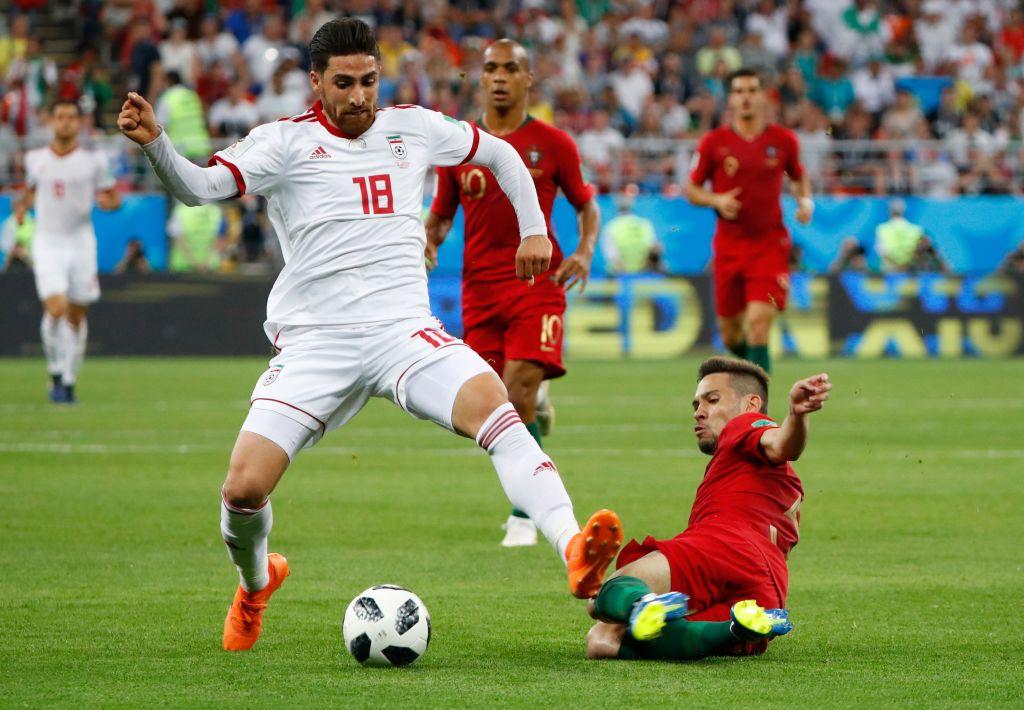 Alireza Jahanbakhsh Iran Portugal World Cup 2018