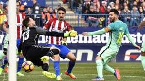 Lionel Messi Barcelona Jan Oblak Atletico Madrid La Liga