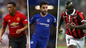 Anthony Martial Cesc Fabregas Mario Balotelli