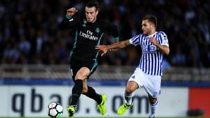 Gareth Bale Kevin Rodrigues Real Sociedad Real Madrid LaLiga 17092017