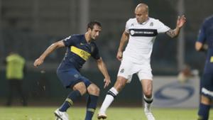 Carlos Izquierdoz Santiago Silva Boca Gimnasia Copa Argentina 2018 Octavos de final
