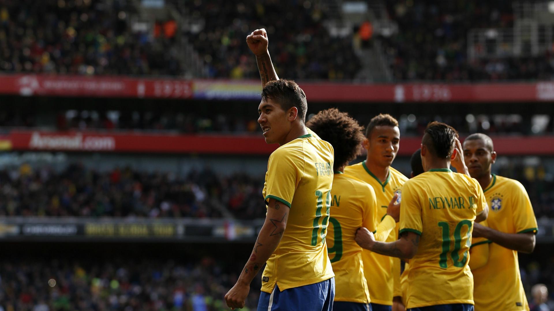 Roberto Firmino Brazil Chile 29032015