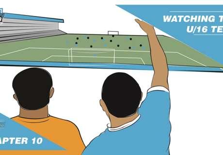 #WeAreYoungBafana: At the game