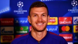 Edin Dzeko - Roma Champions League