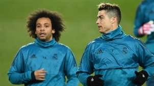 Cristiano Ronaldo Marcelo Real Madrid 2017-18