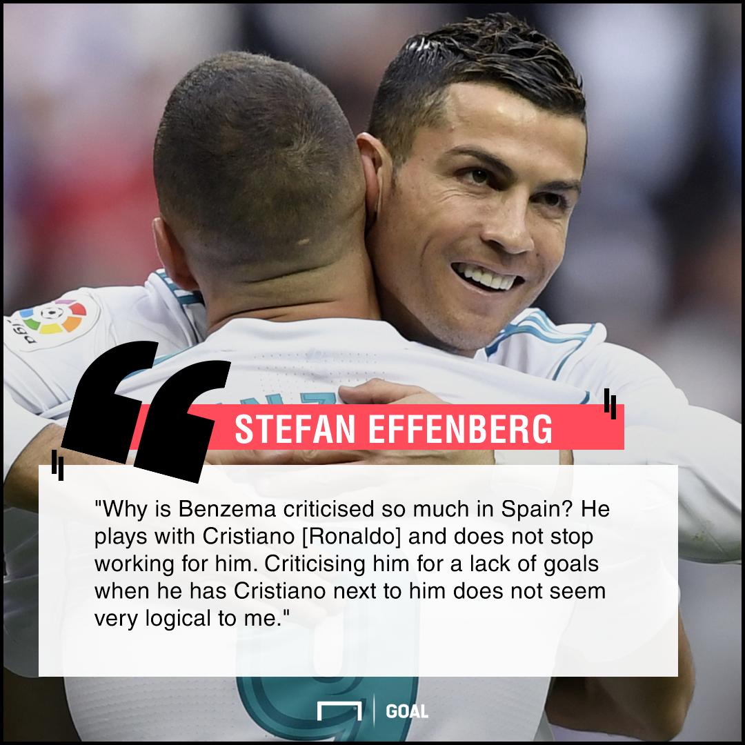 Karim Benzema supports Cristiano Ronaldo Stefan Effenberg