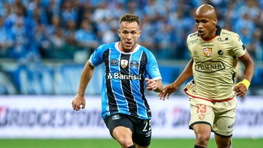 Arthur Gremio Barcelona SC Copa Libertadores 01112017