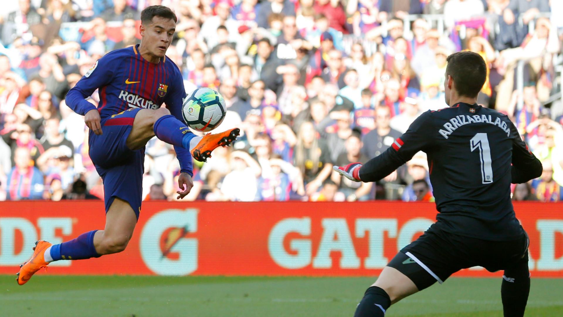 Coutinho Kepa Barcelona Athletic LaLiga