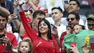 Georgina Rodriguez Portugal Morocco World Cup