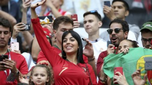 Georgina Rodriguez Portugal Morocco World Cup