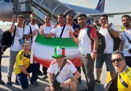 Un árbitro de rugby, una dedicatoria y un viaje de 2400 km a Rusia