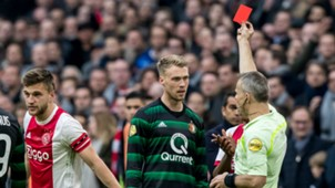 Nicolai Jörgensen, Ajax - Feyenoord, Eredivisie 01212018