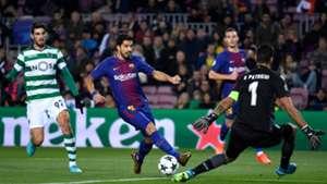 Luis Suarez Barcelona Sporting
