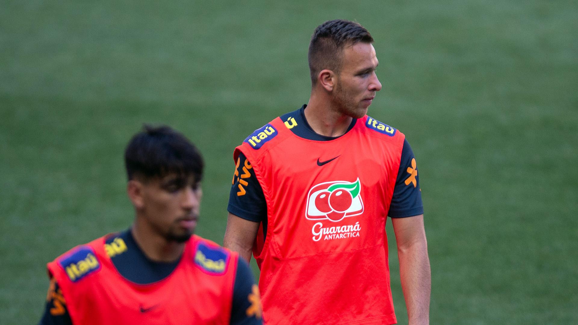 Arthur Brasil treino 05092018