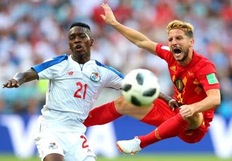 LIVE: Belgium vs Panama
