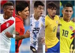 Joyas ocultas Copa América 2019 Pedro Aquino Victor Dávila Exequiel Palacios Paquetá Jorman Campuzano