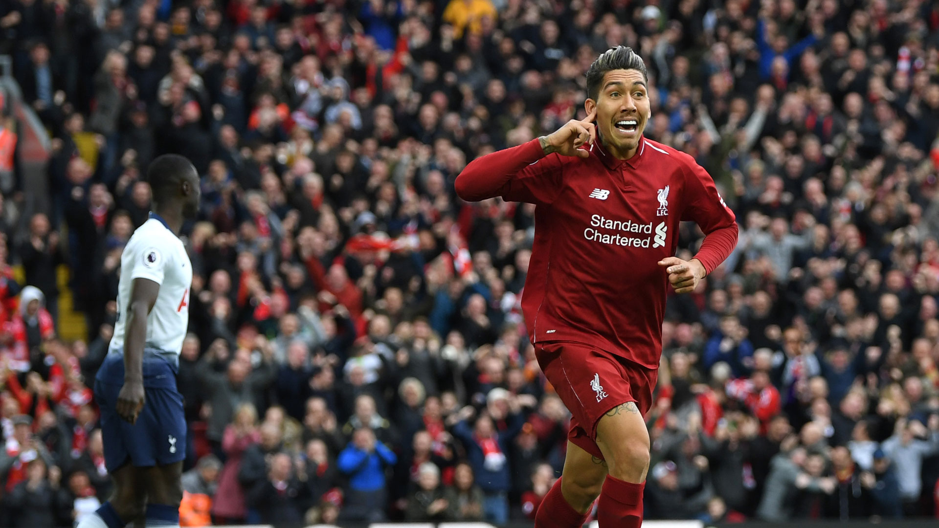 Roberto Firmino Liverpool Tottenham 31032019