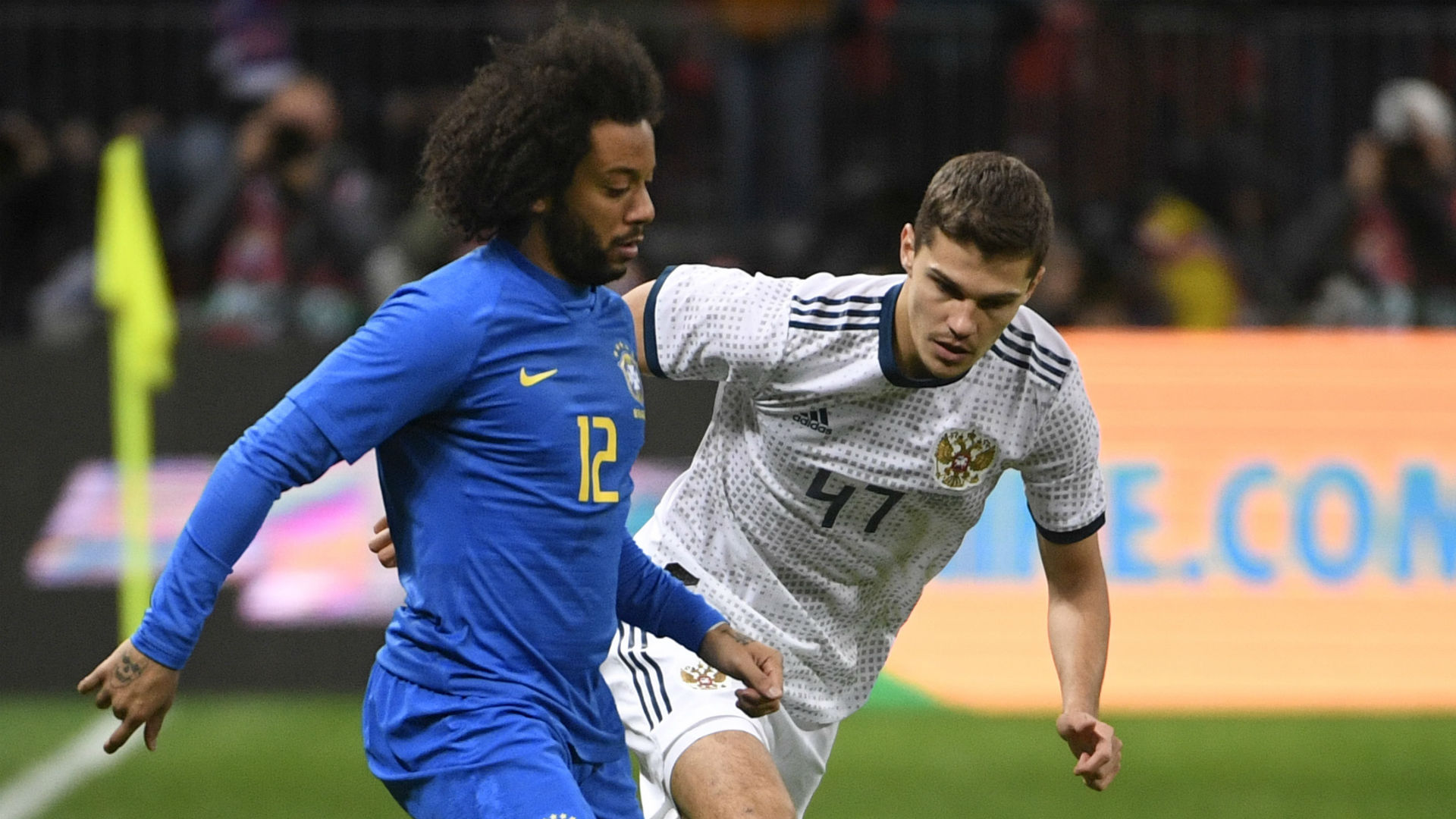Marcelo Roman Zobnin Brazil Russia International friendly 23032018