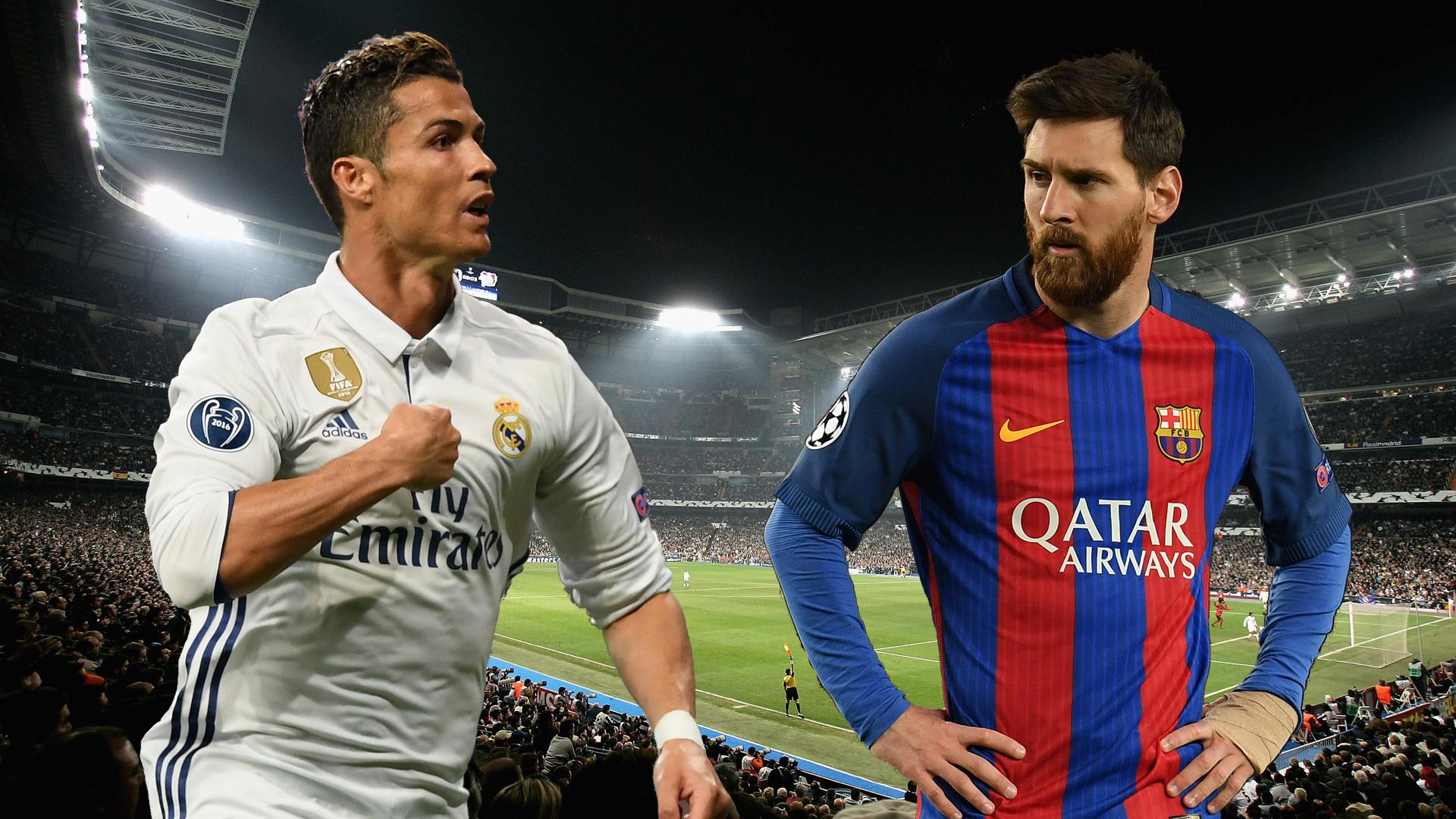 Clasico Ronaldo Messi 23042017