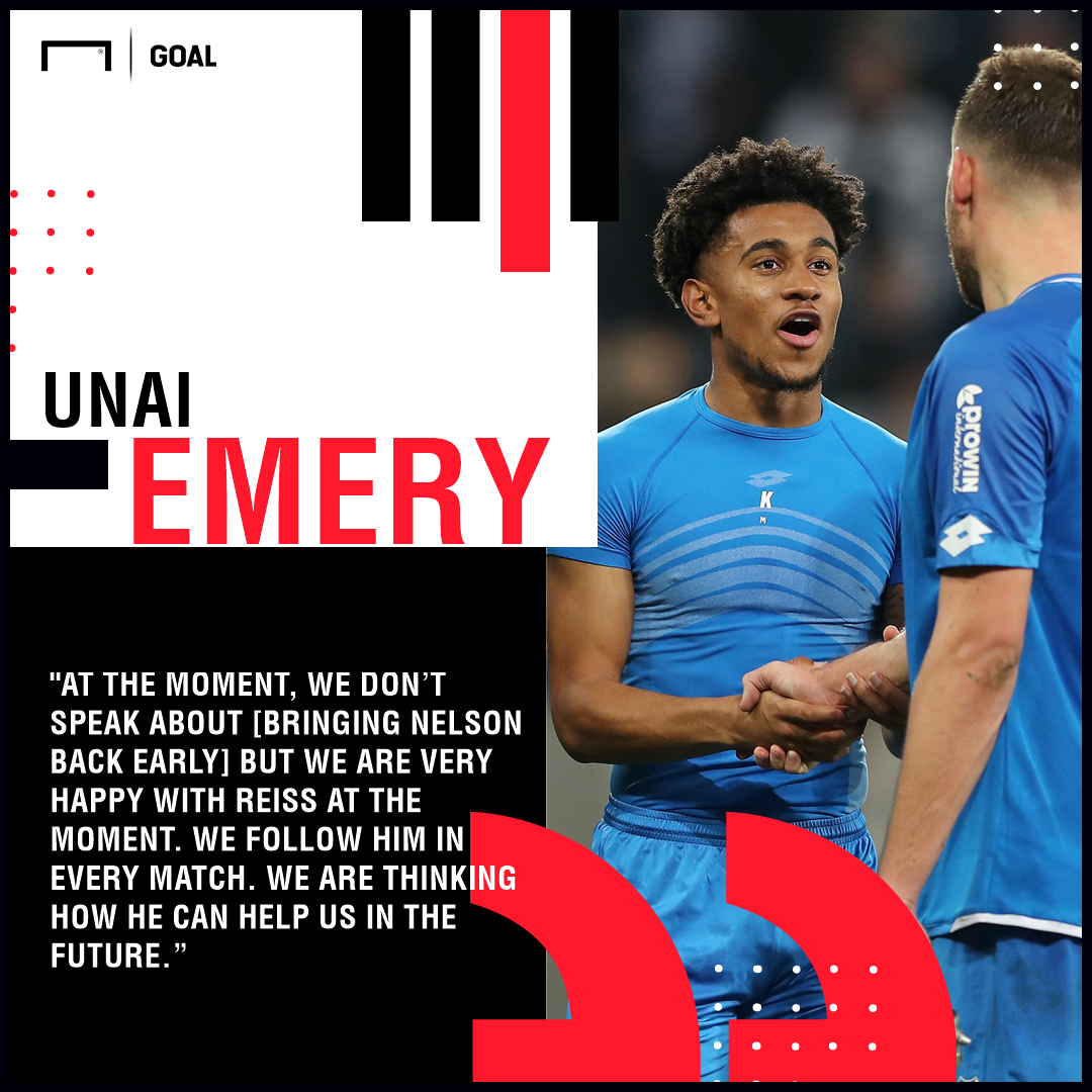 Reiss Nelson Hoffenheim Arsenal PS
