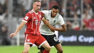 Franck Ribery Trent Alexander-Arnold FC Bayern FC Liverpool 01082017