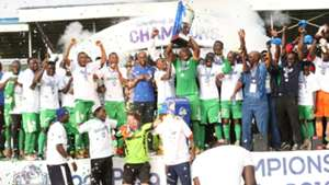 Gor Mahia are the champions.