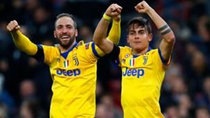 Higuain Dybala Tottenham Juventus Champions League