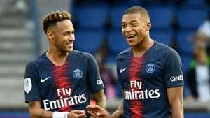 Neymar Kylian Mbappe PSG Paris Saint-Germain 2018-19