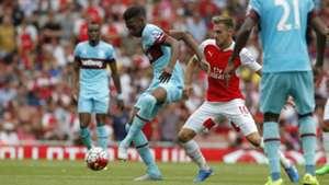 Reece Oxford West Ham Arsenal Premier League 0815
