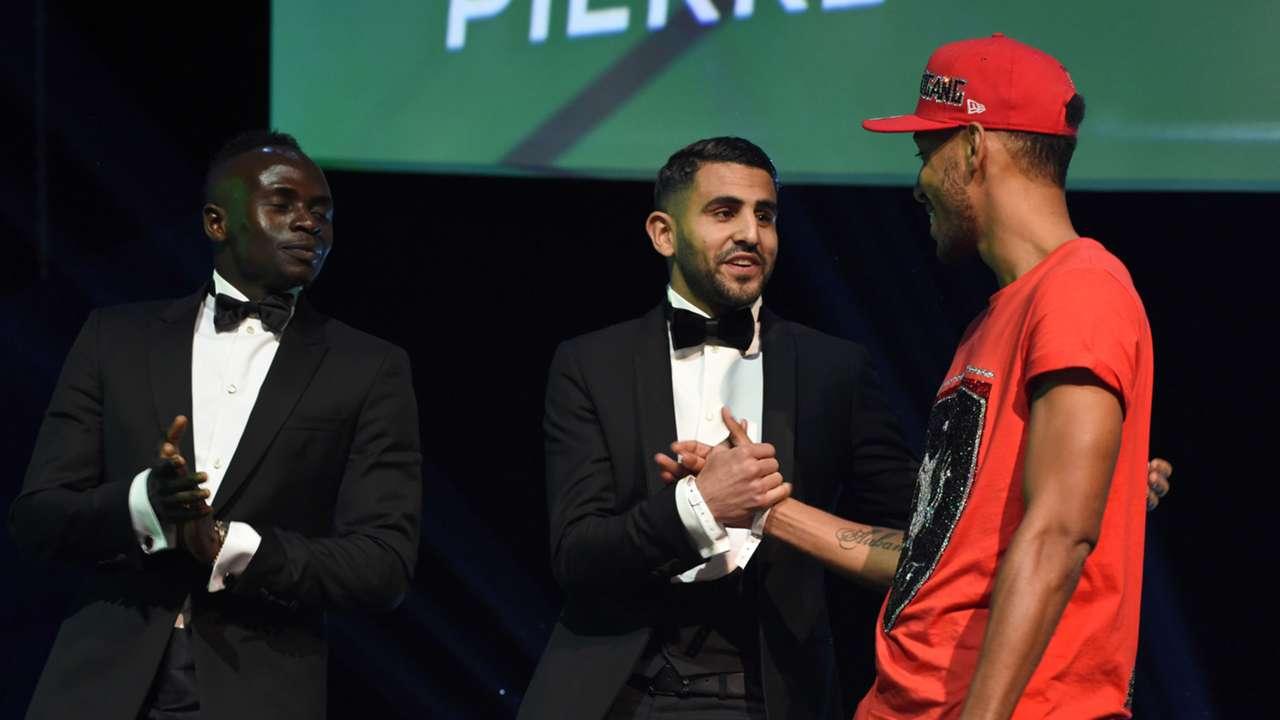Riyad Mahrez,Pierre-Emerick Aubameyang Sadio Mane