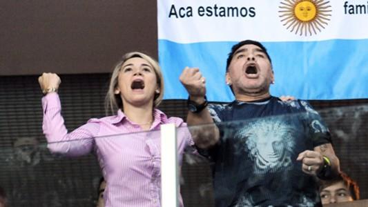 Rocio Oliva, Maradona