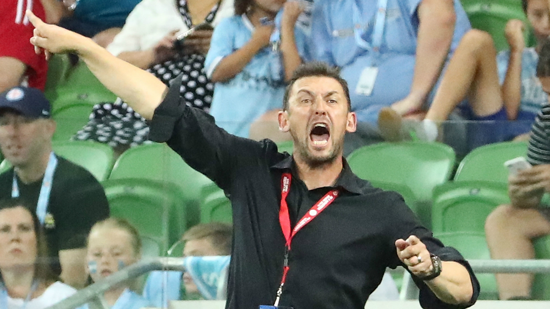 Tony Popovic Melbourne City v Western Sydney Wanderers A-League 06012017