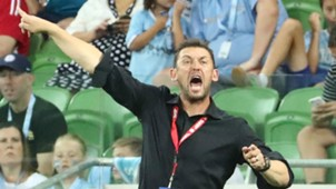 Tony Popovic Melbourne City v Western Sydney Wanderers A-League 06012017