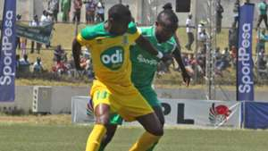 Gor Mahia midfielder Francis Kahata v Mathare United.